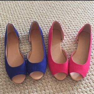 🌺REDUCED 🌺 NEW 2 PAIRS OF FASHION H&M BOGO FLATS
